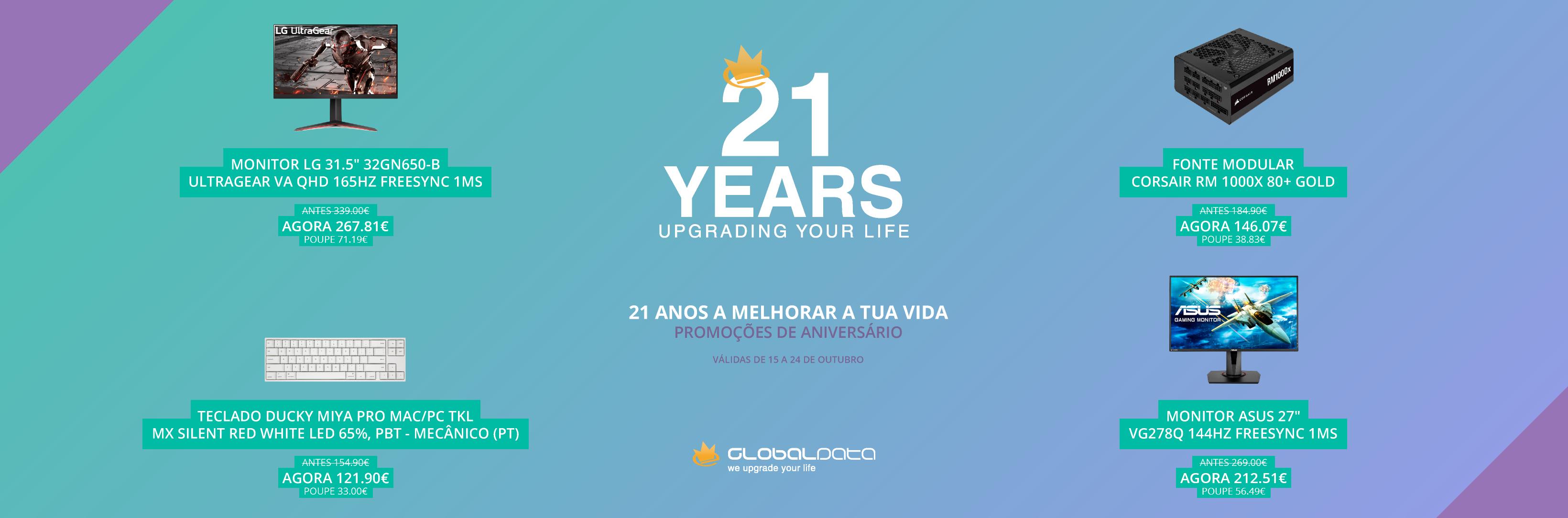 Aniversário Globaldata