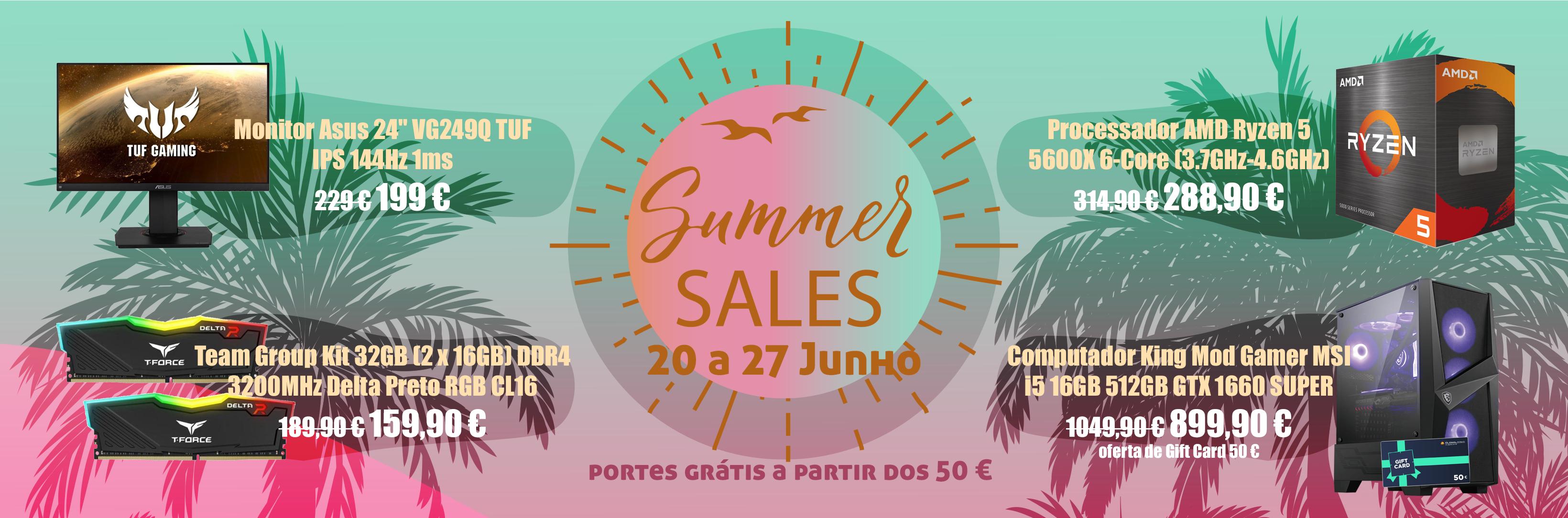 Banner Summer Sales 2021