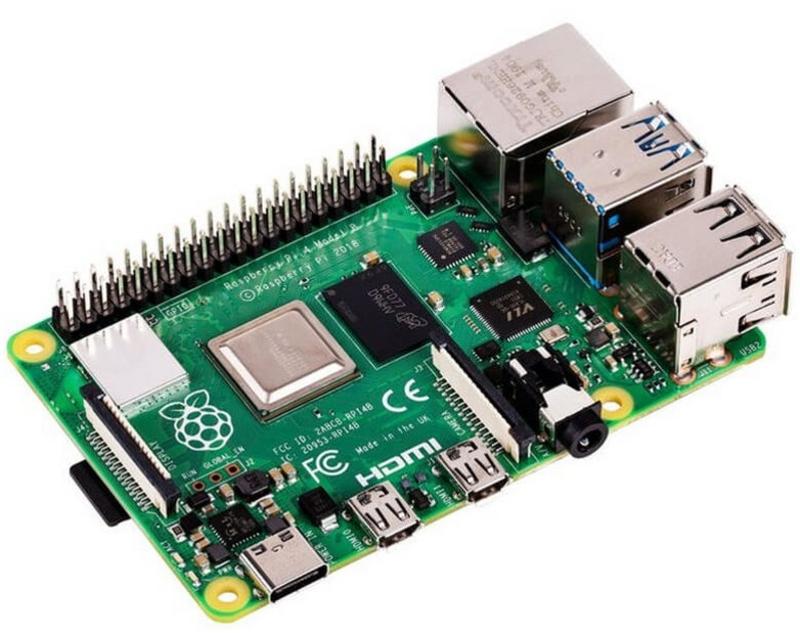Raspberry - ** B Grade ** Mini PC Raspberry Pi 4 4GB Model B