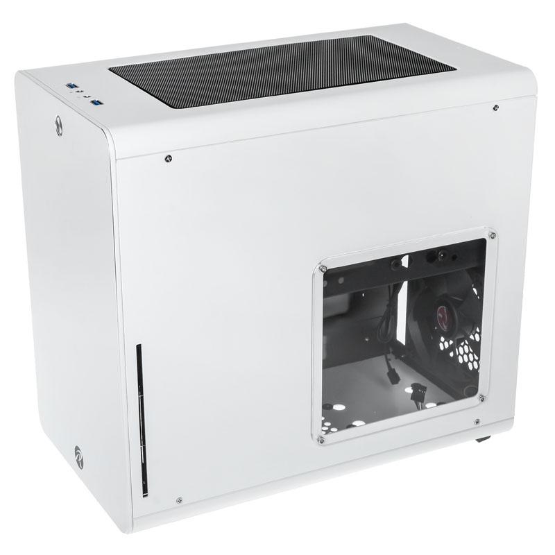 Raijintek - Caixa Micro-ATX Raijintek Styx Branco Janela Acrílica