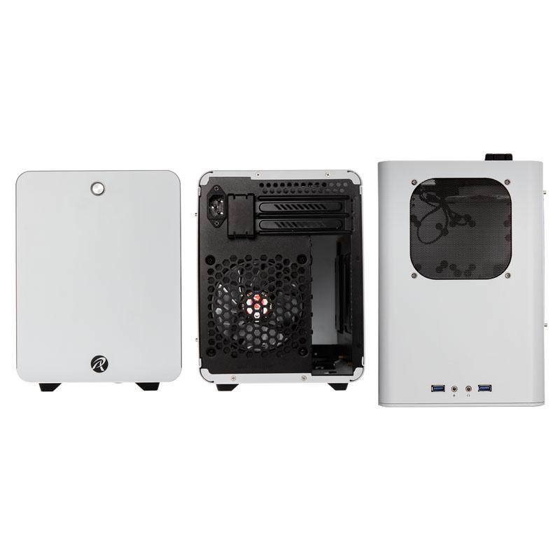 Raijintek - Caixa Mini-ITX Raijintek Metis Plus Branco Janela Acrílica