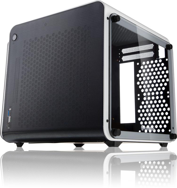 Caixa Mini-ITX Raijintek Metis Evo Branca Vidro Temperado
