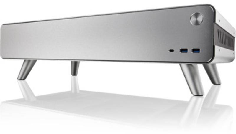 Raijintek - Caixa Mini-ITX Raijintek Pan Slim - Silver