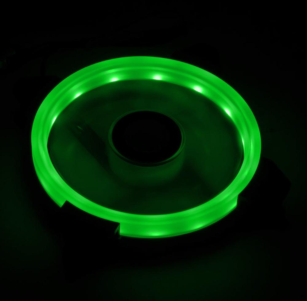 Raijintek - Ventoinha Raijintek IRIS 12 PWM LED Verde 120mm