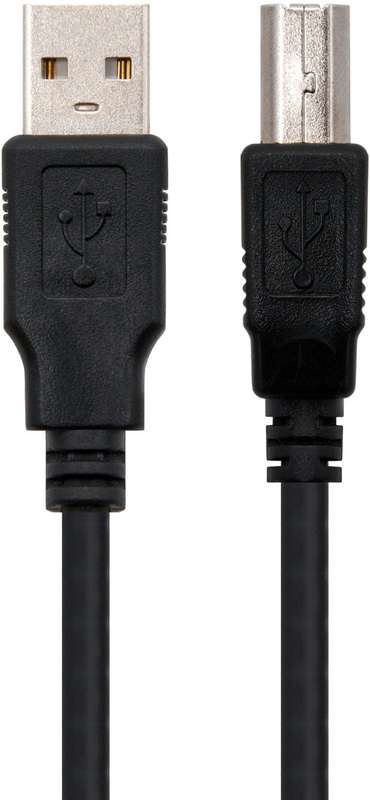 Nanocable - Cabo USB 2.0 Nanocable Tipo A/M-B/M 1 M Preto