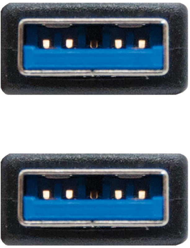 Nanocable - Cabo USB 3.0 Nanocable Tipo A/M-A/M 2 M Preto