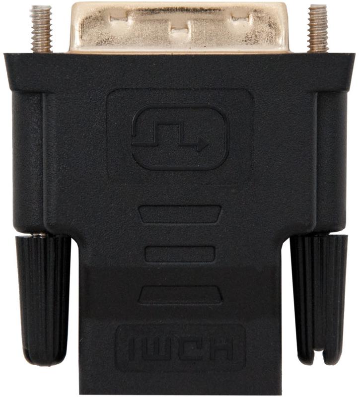 Adaptador Nanocable DVI 24+1/M-HDMI/F