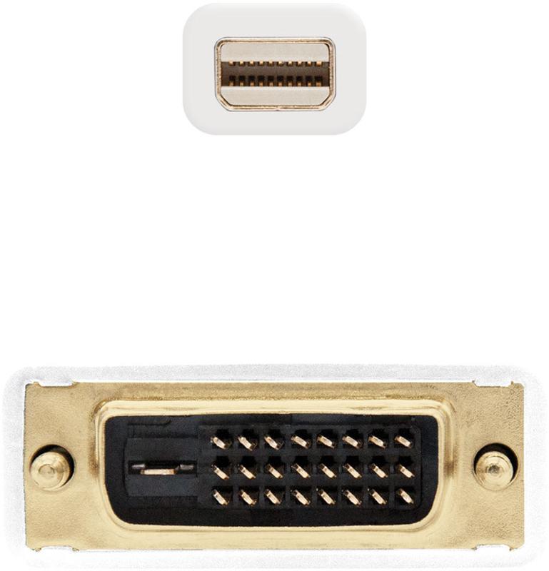 Nanocable - Cabo Conversor Nanocable Mini Displayport Macho > DVI Macho 2 M Branco