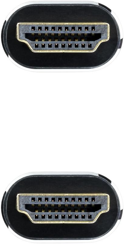 Nanocable - Cabo HDMI V2.1 8K Nanocable IRIS A/M-A/M 3M Preto