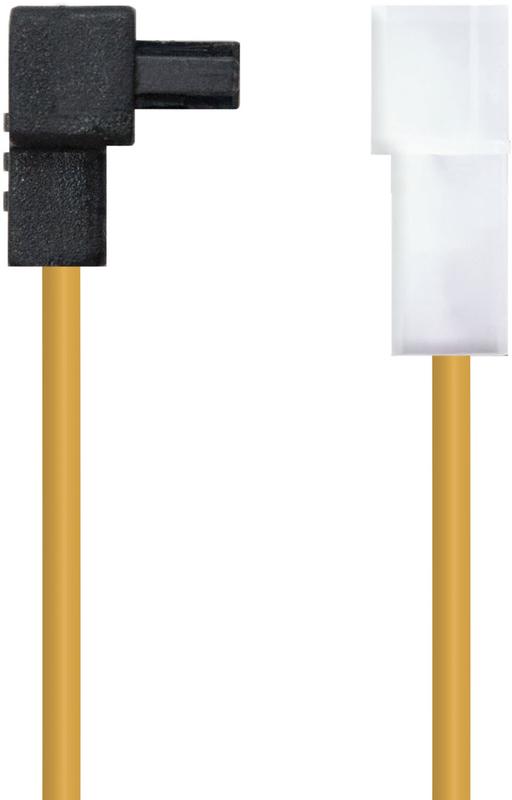 """Nanocable - Cabo de Alimentação SATA Angular Nanocable - 5.25"""" (Molex 4 Pinos) Macho - SATA Femea 16CM OEM"""