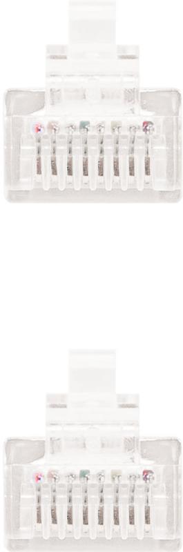 Nanocable - Cabo de Rede Nanocable RJ45 UTP CAT.5E AWG24 2 M Branco