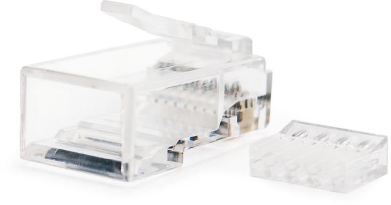 Nanocable - Ficha de Rede Nanocable RJ45 8 FIOS CAT.6 (Pack 10)