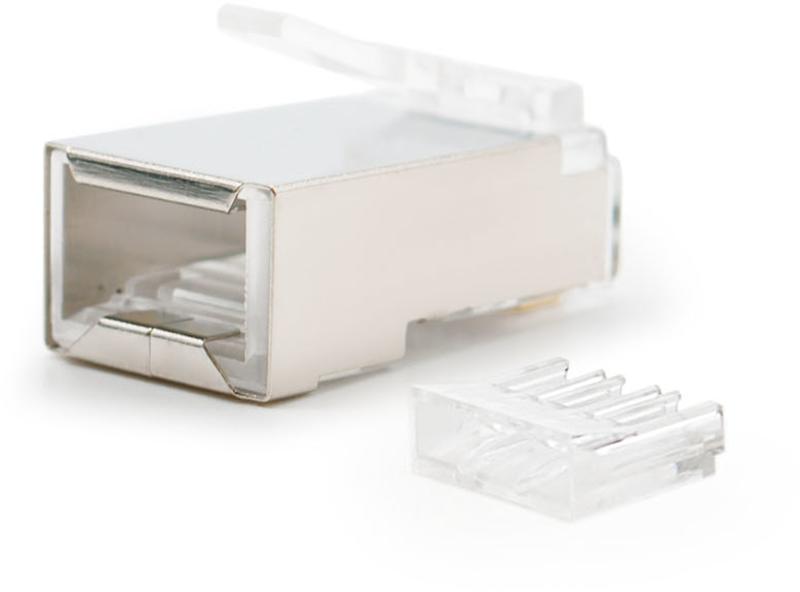 Nanocable - Ficha de Rede Nanocable RJ45 8 FIOS FTP CAT.6 (Pack 10)