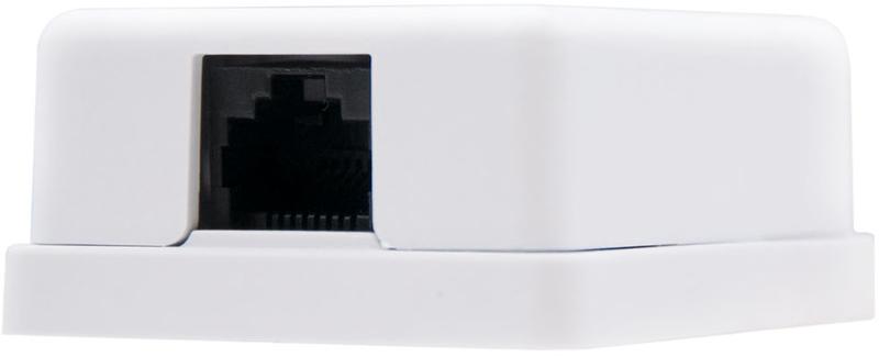 Nanocable - Tomada de Superfície Nanocable 1x RJ45 CAT.6 UTP Branco