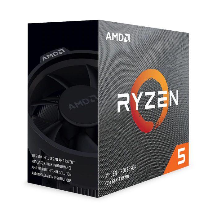 AMD - Processador AMD Ryzen 5 3600X 6-Core (3.8GHz-4.4GHz) 36MB AM4