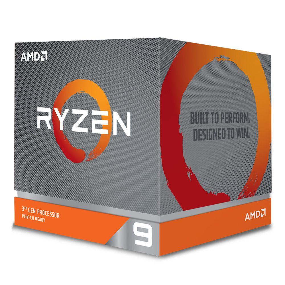 Processador AMD Ryzen 9 3900X 12-Core (3.8GHz-4.6GHz) 70MB AM4