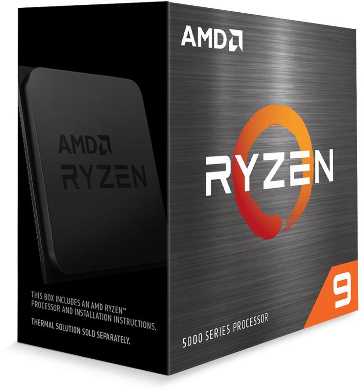 AMD - Processador AMD Ryzen 9 5950X 16-Core (3.4GHz-4.9GHz) 72MB AM4