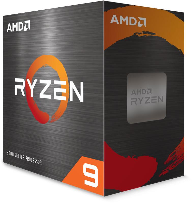 AMD - Processador AMD Ryzen 9 5900X 12-Core (3.7GHz-4.8GHz) 70MB AM4