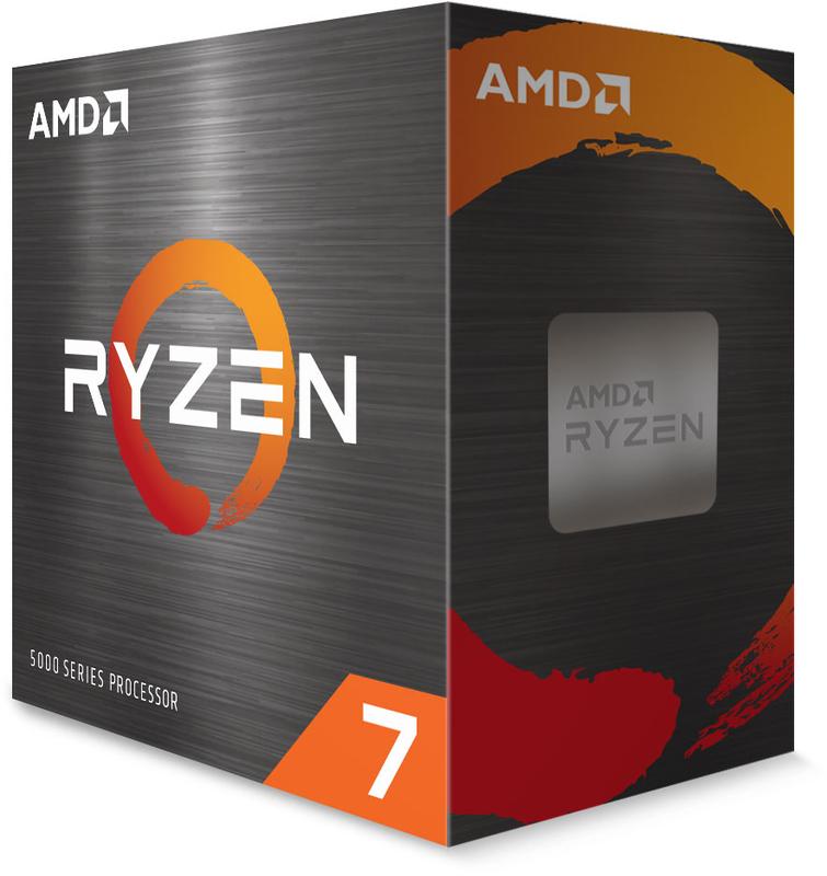 AMD - Processador AMD Ryzen 7 5800X 8-Core (3.8GHz-4.7GHz) 36MB AM4