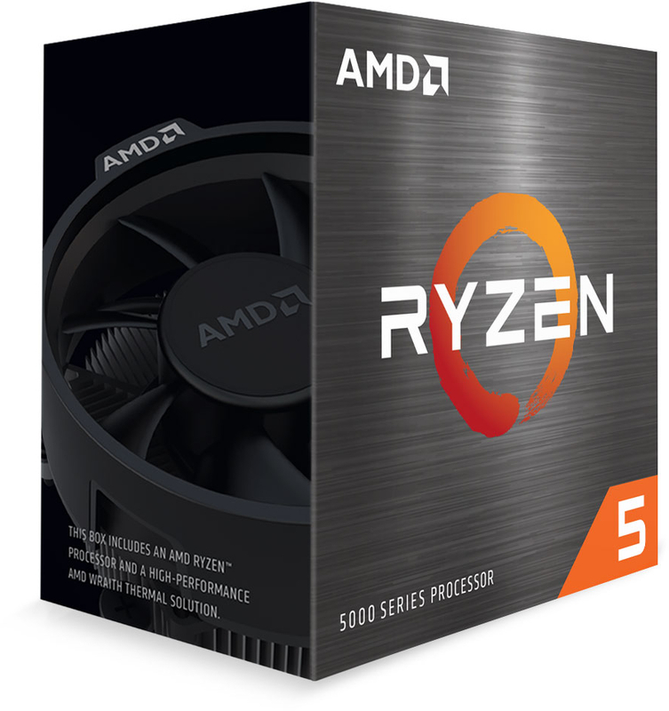 AMD - Processador AMD Ryzen 5 5600X 6-Core (3.7GHz-4.6GHz) 35MB AM4