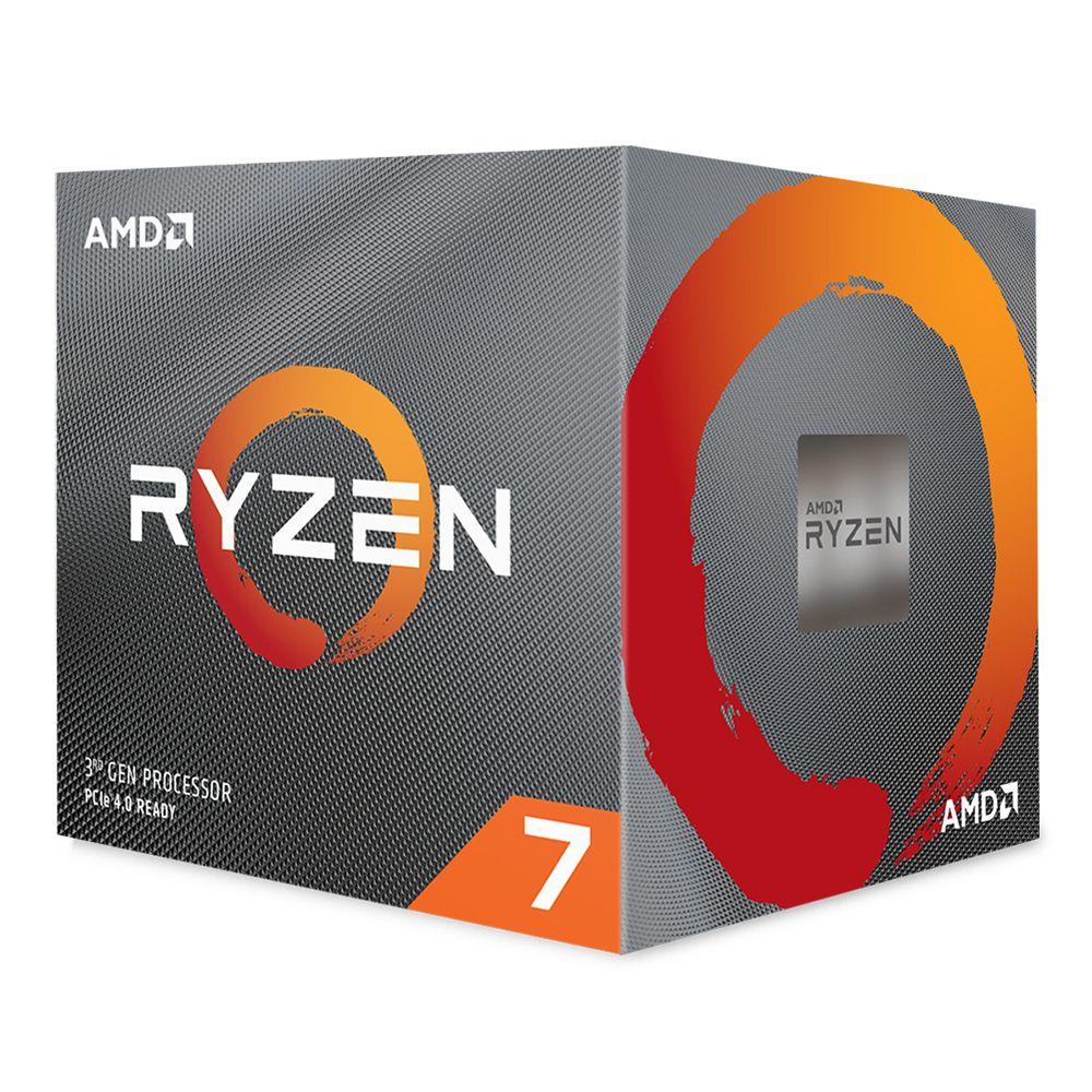 AMD - Processador AMD Ryzen 7 3700X 8-Core (3.6GHz-4.4GHz) 36MB AM4
