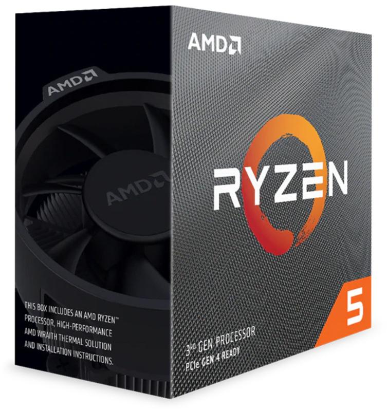 Processador AMD Ryzen 5 3500X 6-Core (3.6GHz-4.1GHz) 35MB AM4