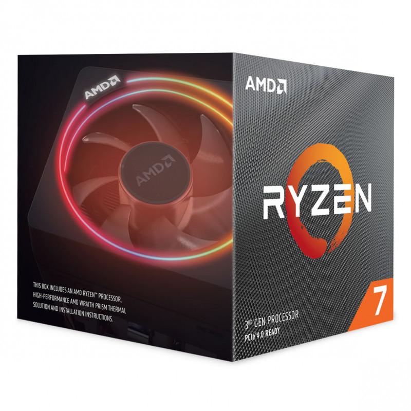 Processador AMD Ryzen 7 3800XT 8-Core (3.9GHz-4.7GHz) 36MB AM4