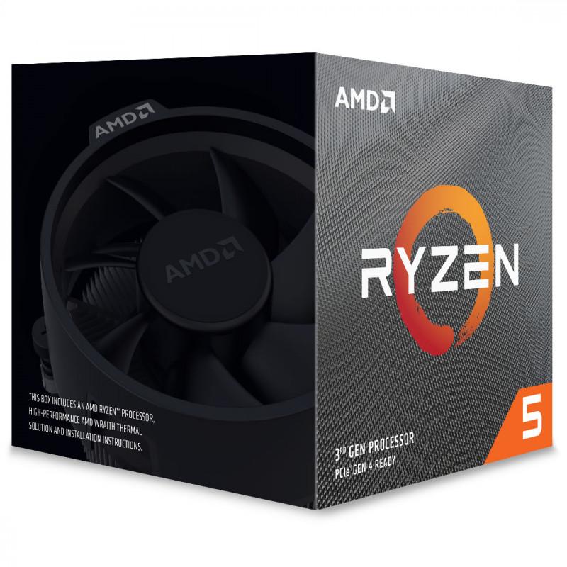 AMD - Processador AMD Ryzen 5 3600XT 6-Core (3.8GHz-4.5GHz) 36MB AM4