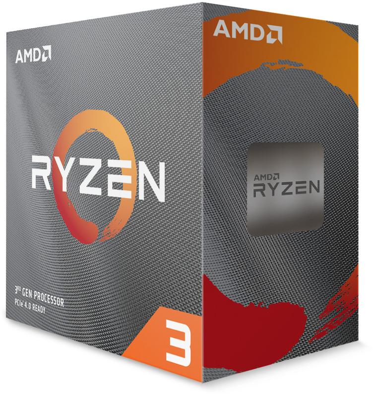 Processador AMD Ryzen 3 3100 4-Core (3.6GHz-3.9GHz) 18MB AM4