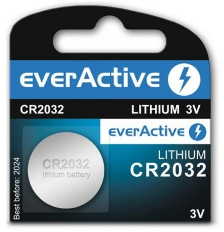 everActive - Pilhas everActive Lithium CR2032 3V