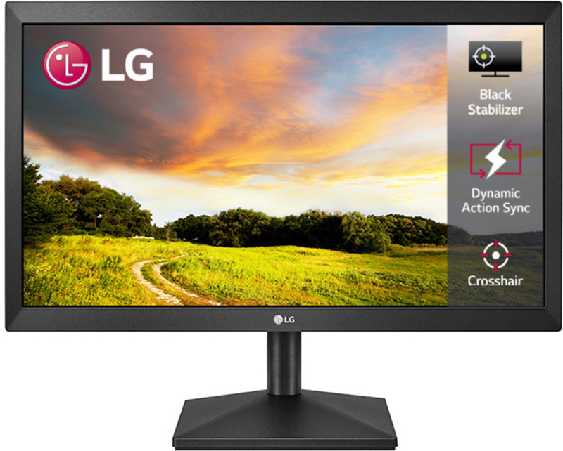 "Monitor LG 19.5"" 20MK400H-B 5ms"