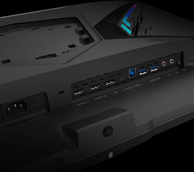 """Gigabyte - Monitor Gigabyte 31.5"""" FI32Q IPS QHD 16:9 165Hz HDR400 1ms"""