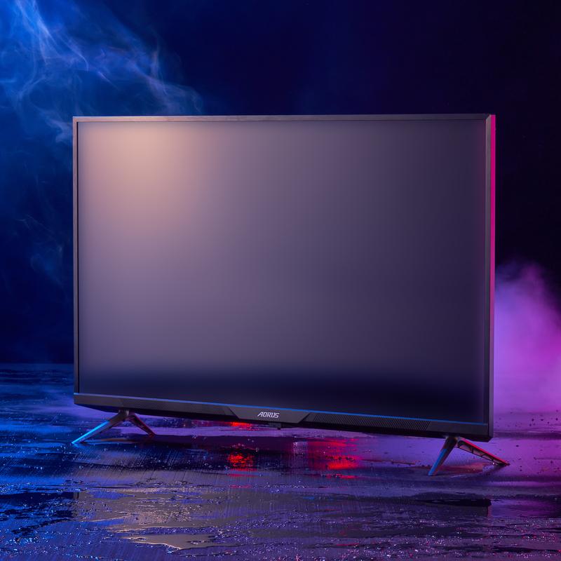 """Gigabyte - Monitor Gigabyte 43"""" AORUS FV43U HDMI 2.1 4K 144hz 1ms"""