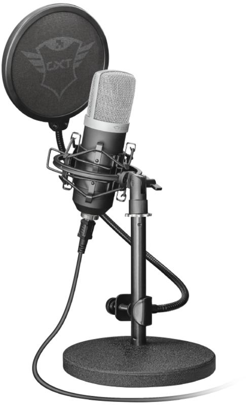 Trust - Microfone Trust Gaming GXT 252 Emita Streaming USB