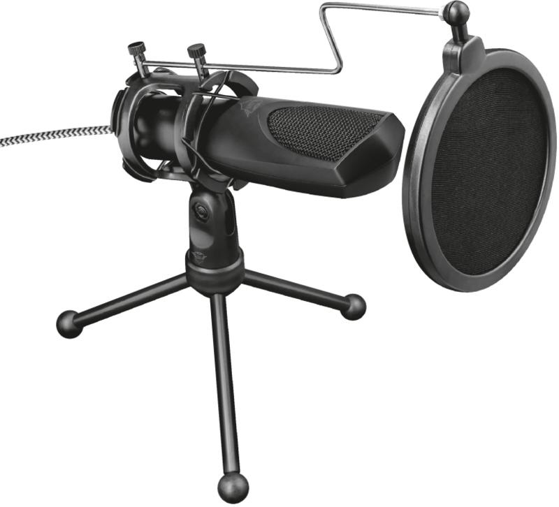Trust - Microfone Trust Gaming GXT 232 Mantis Streaming USB