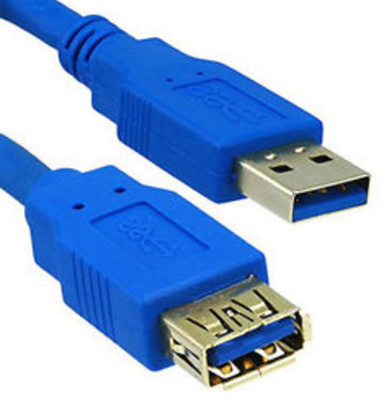 Cabo de Extensão USB 3.0 Tipo A > A 2 Metros