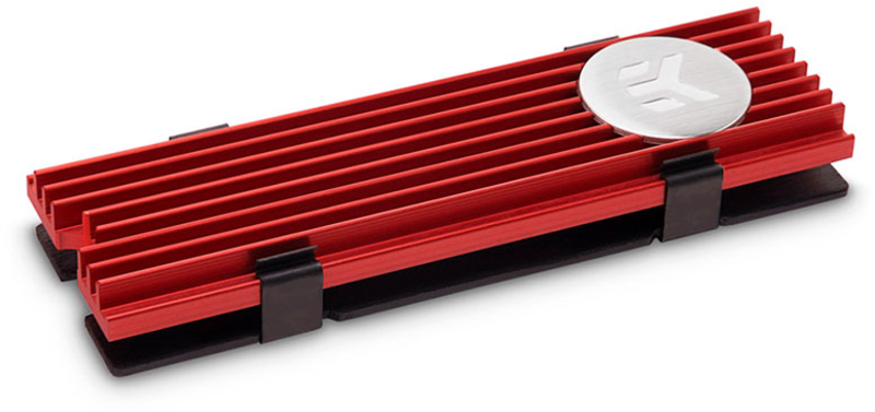 Cooler Discos EKWB EK-M.2 NVMe Vermelho