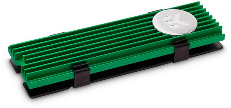 Cooler Discos EKWB EK-M.2 NVMe Verde