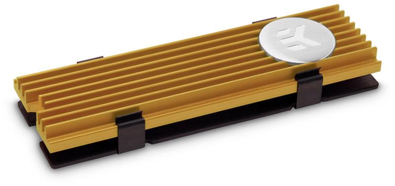Cooler Discos EKWB EK-M.2 NVMe Dourado
