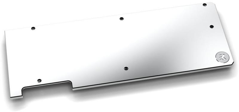 EKWB - Backplate VGA EK -Vector RTX - Niquel