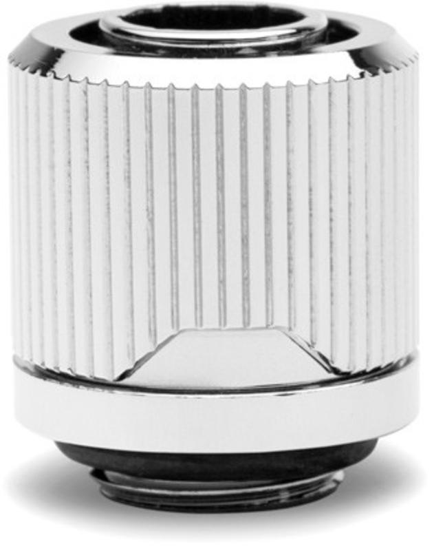 EKWB - Conector EKWB Quantum Torque STC G1/4 Macho / Rosca 10-13mm Macho Prateado