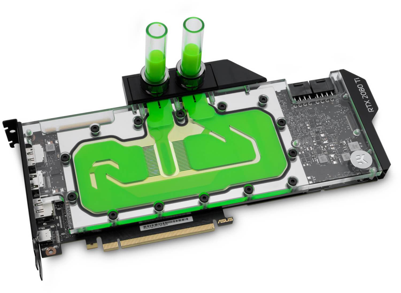 EKWB - Bloco VGA EK Vector RTX RE Ti RGB - Niquel + Acrilico