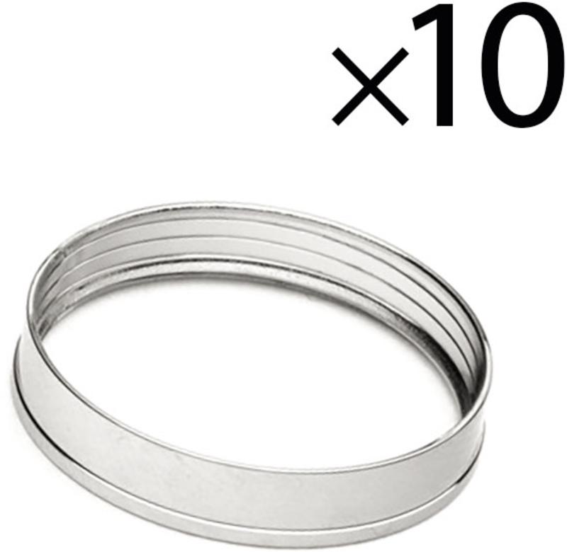 Rings EKWB Quantum Torque HDC 12mm Prateado (Pack 10)