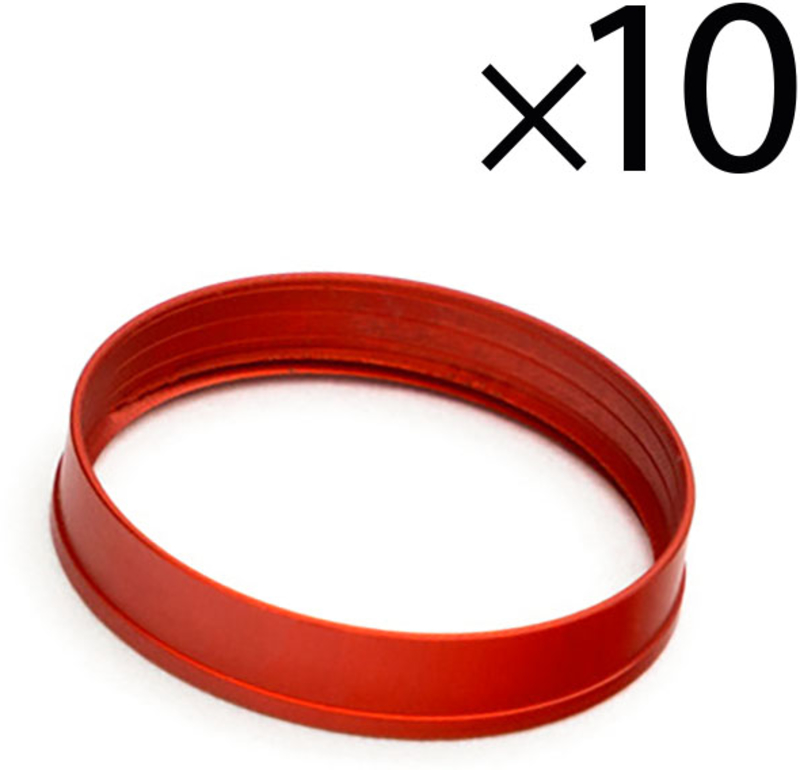 Rings EKWB Quantum Torque HDC 12mm Vermelho (Pack 10)