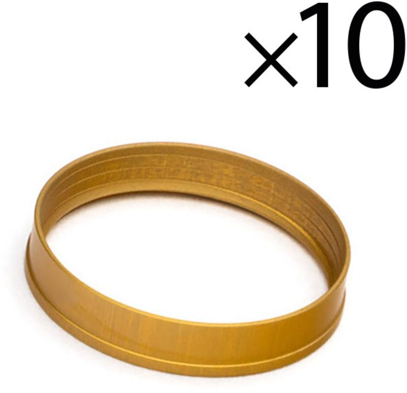 Rings EKWB Quantum Torque HDC 12mm Dourado (Pack 10)