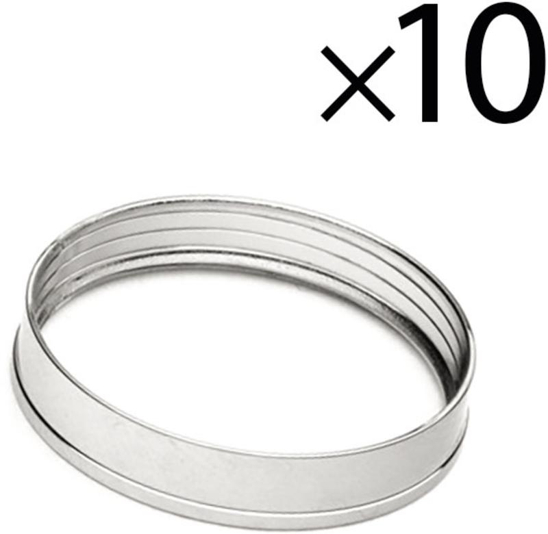 Rings EKWB Quantum Torque STC 10-13mm Prateado (Pack 10)