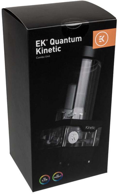 EKWB - Reservatório+Bomba EKWB Quantum Kinetic TBE 160 DDC PWM D-RGB - Acrilico
