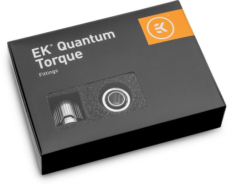 EKWB - Conector EKWB Quantum Torque STC 10-13mm - Pack 6 - Prateado