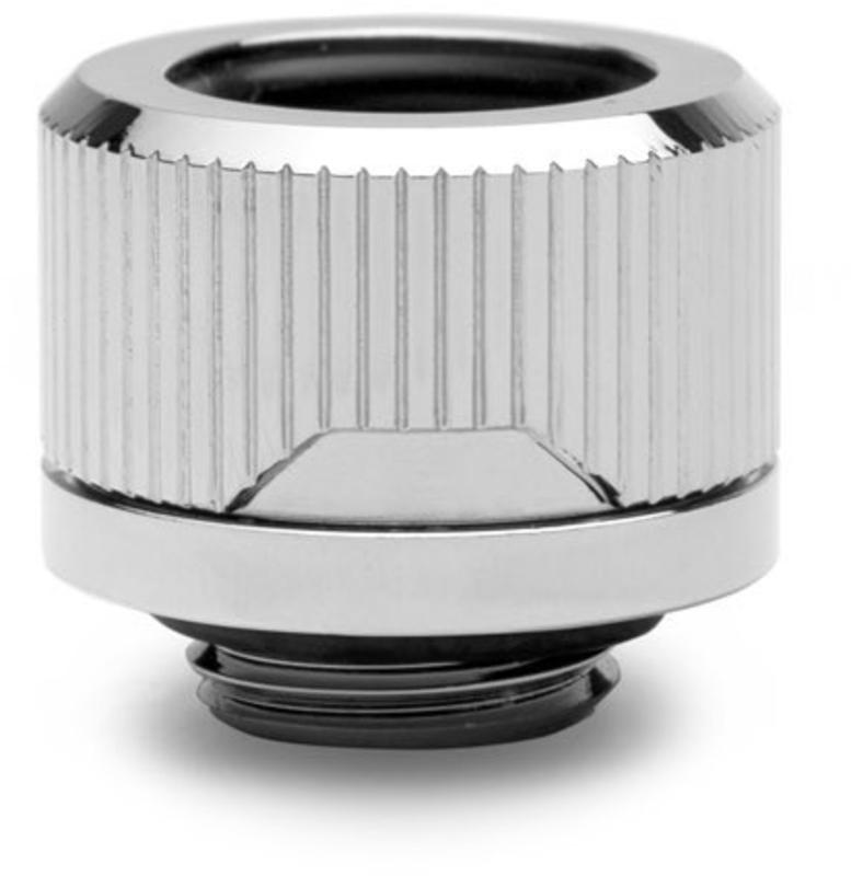 EKWB - Conector EKWB Quantum Torque HDC 14mm Prateado (Pack 6)