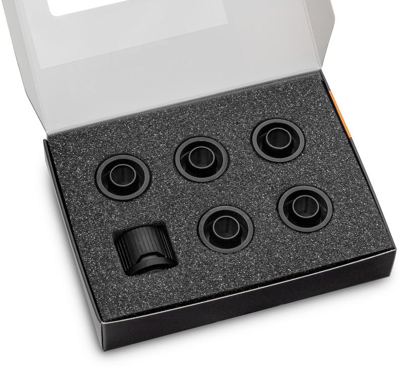 Conector EKWB Quantum Torque STC 10-13mm Preto (Pack 6)